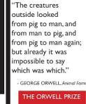 خارجيا شابه حيوانا الي انسان و انسان الي حيوان و حيوان الي انسان مره اخري .كان من المستحيل معرفه من فيهم الأخر